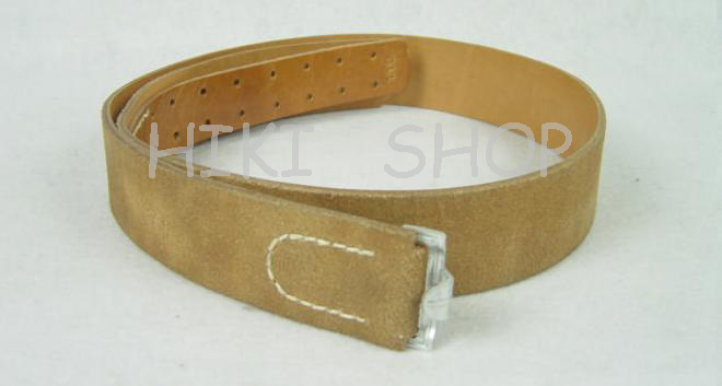 WWII German LW EM Brown Leather Belt